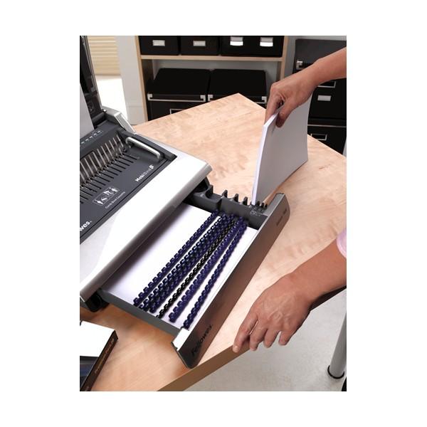 Fellowes Galaxy 500 Plastic Comb Binding Machine with Starter Kit