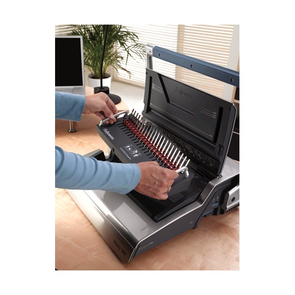 Fellowes Galaxy 500 Plastic Comb Binding Machine With