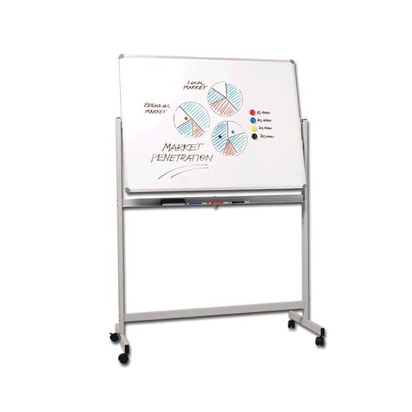Penrite Mobile Magnetic Whiteboard